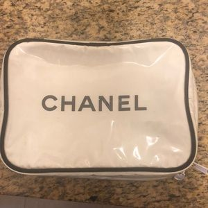 Chanel makeup bag